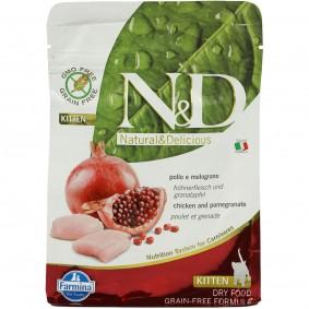 N&D Huhn&Granatapfel Kitten getreidefrei 1,5kg + 300g GRATIS