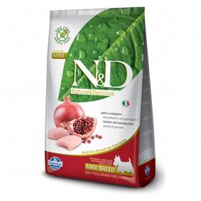 N&D getreidefrei Nassfutter Huhn & Granatapfel Mini Adult