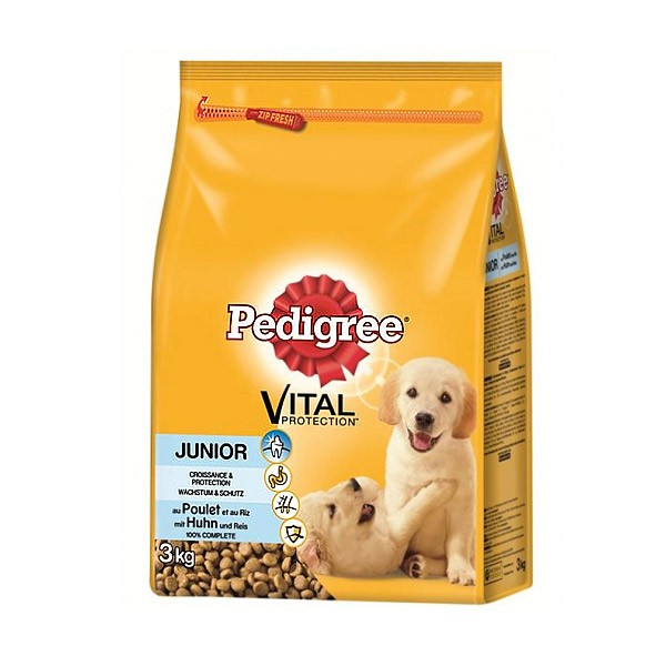 Pedigree Vital Protection Junior mit Huhn+Reis 3kg