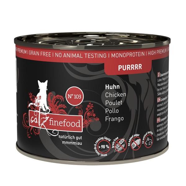 catz finefood Purrrr No.103 Huhn