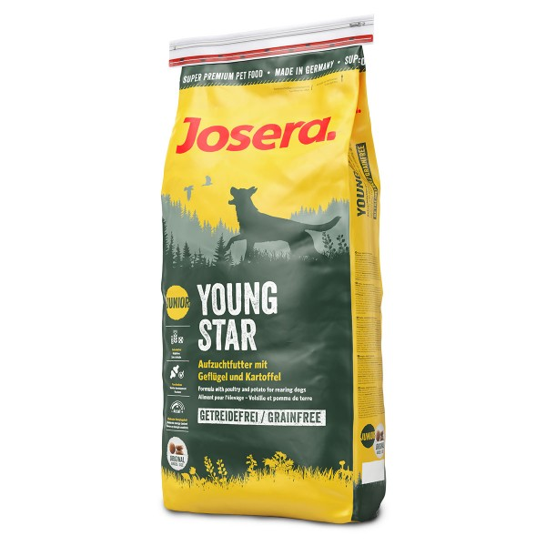 Hundefutter Junior YoungStar - 1,5kg