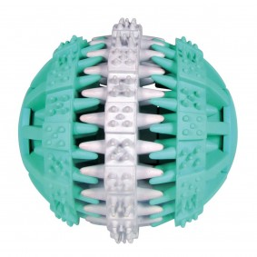 Trixie Denta Fun Ball Mintfresh aus Naturgummi ø 7,5cm