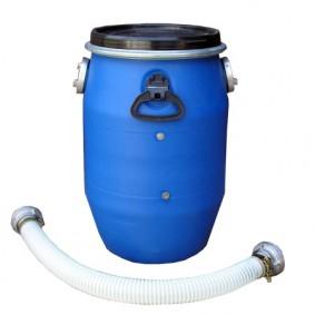 Vorabscheider mit Verbindungsschlauch & Filterschwamm