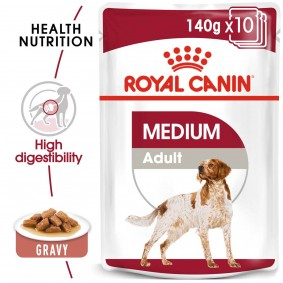 ROYAL CANIN MEDIUM Adult Nassfutter für mittelgroße Hunde