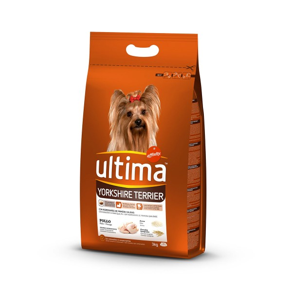Ultima Dog Trockenfutter Mini Yorkshire 3kg