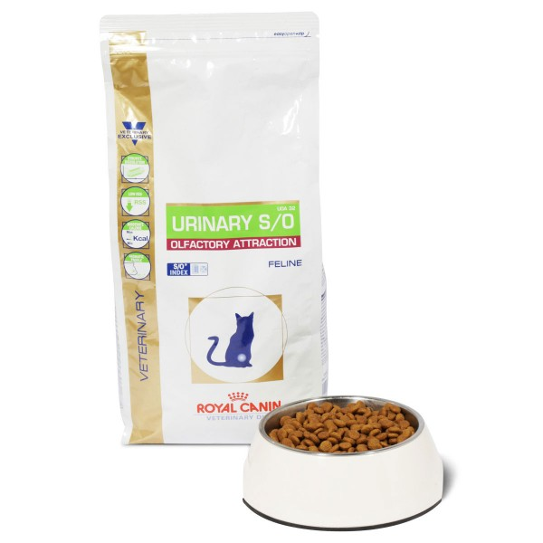 Royal Canin Vet Diet Urinary S/O Olfactory Attraction UOA 32