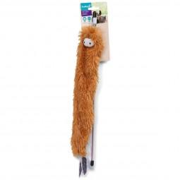 ZooRoyal Katzenangel Knisterfussel mit Glöckchen