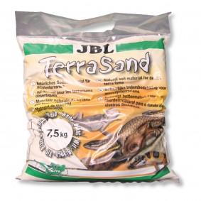 JBL TerraSand Sable pour terrarium - 7,5 kg - blanc