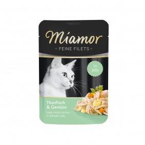 Miamor Feine Filets Thunfisch und Gemüse im Frischebeutel