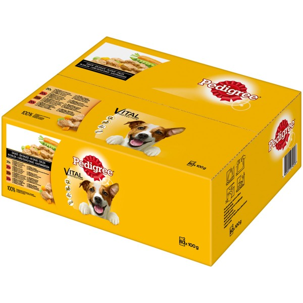 Pedigree Adult Auswahl in Sauce 80x100g