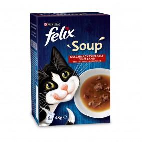 FELIX Soup Geschmacksvielfalt vom Land mit Rind, Huhn und Lamm