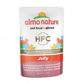 Almo Nature HFC in Jelly pouch Thunfisch und Garnelen