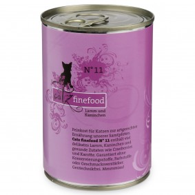 catz finefood No. 11 Lamm & Kaninchen 400g