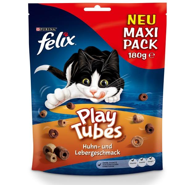 FELIX Play Tubes Huhn & Leber Katzensnacks