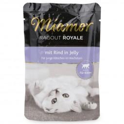Miamor Katzenfutter Ragout Royale in Jelly Kitten Rind