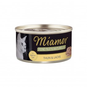 Miamor Feine Filets Naturelle Thunfisch und Lachs