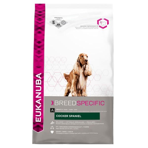 Eukanuba Hunde-Trockenfutter Cocker Spaniel Huhn