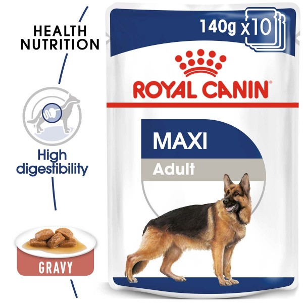 ROYAL CANIN Giant Adult 15kg + Maxi Adult 10x140g