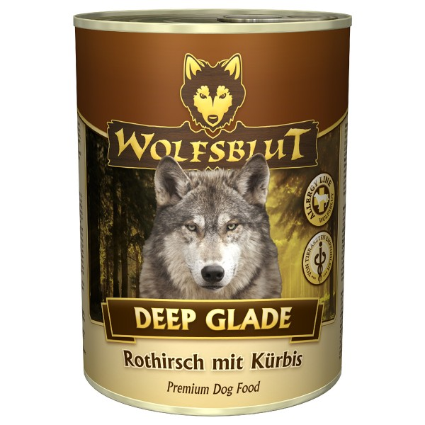 Wolfsblut Deep Glade mit Rothirschfleisch