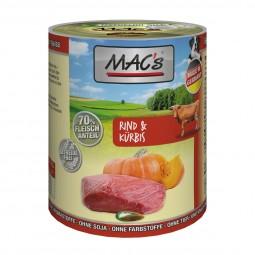 MAC's Dog Hundefutter Rind und Kürbis