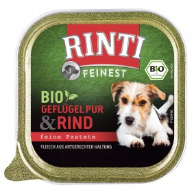 Rinti Feinest Bio Geflügel Pur mit Rind