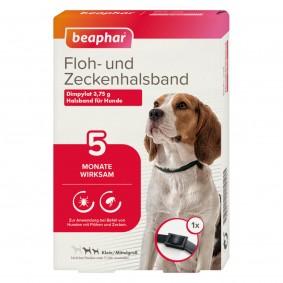 beaphar Floh- und Zeckenhalsband für Hunde