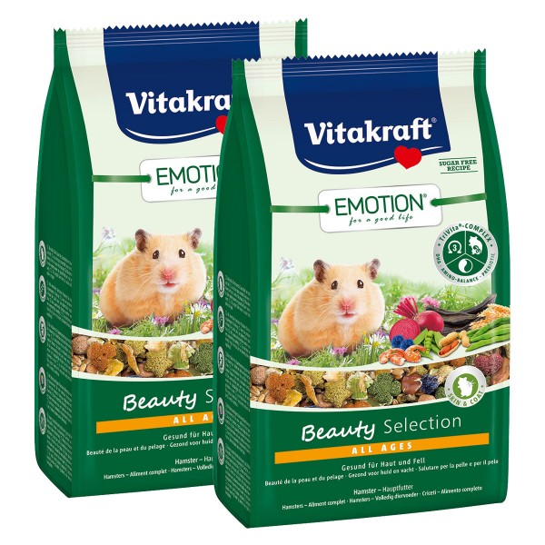 Vitakraft Emotion Beauty Selection Hamster 2x600g