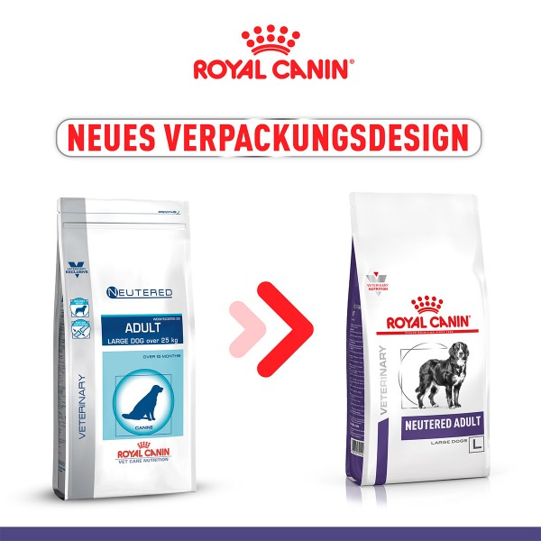 ROYAL CANIN NEUTERED ADULT LARGE DOGS