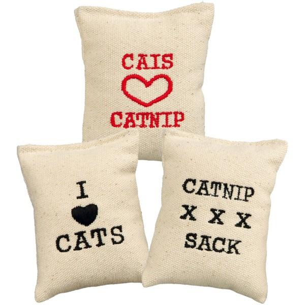 Trixie Catnip-Säckchen Katzenspielzeug 9 cm