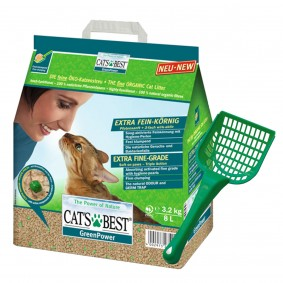 Cat's Best Katzeneinstreu Green Power 8l Plus Streuschaufel gratis!