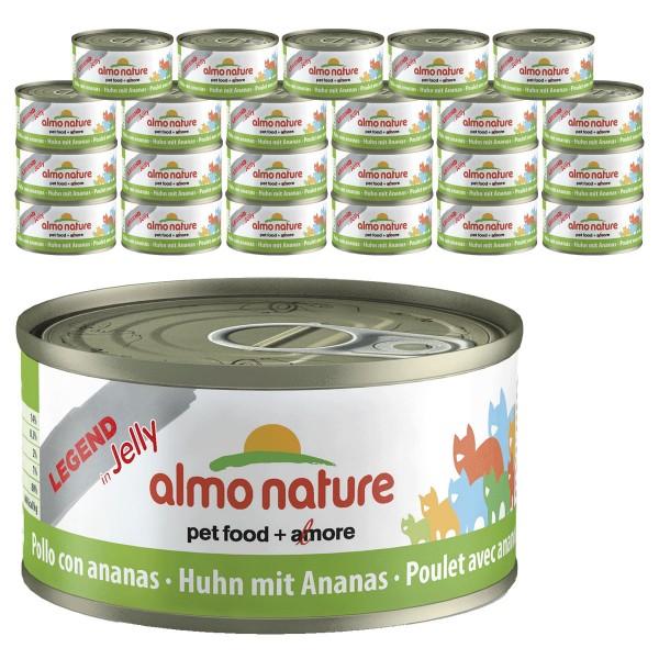 Almo Nature Legend Katzenfutter 24x70gHuhn & Ananas