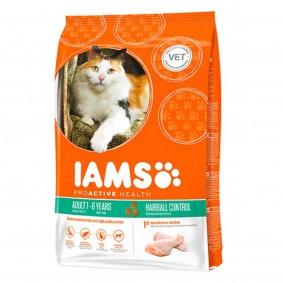 IAMS Katze Trockenfutter Adult Hairball Control Huhn