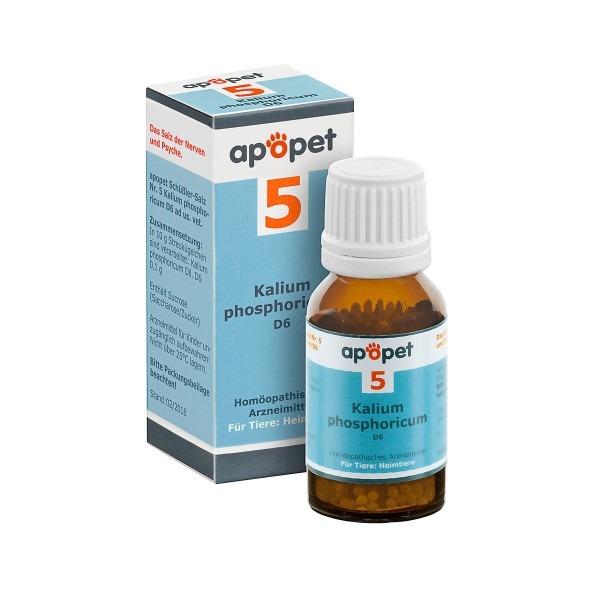 apopet Schüßler Salz Nr. 5 Kalium phosphoricum D6