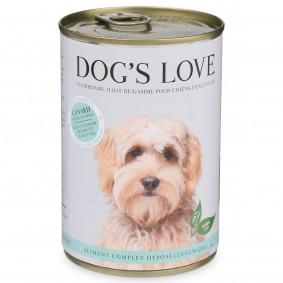 Dog's Love Hypoallergen Ente mit Topinambur & Karotten