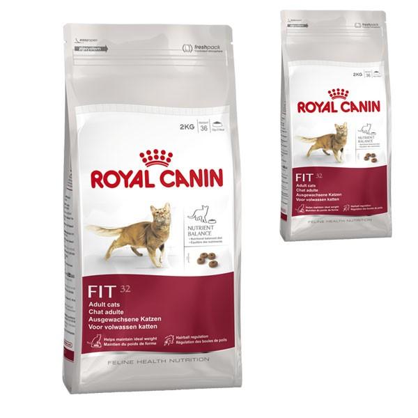 Royal Canin Katzenfutter Fit 32 4 Kg + 400 g gr...
