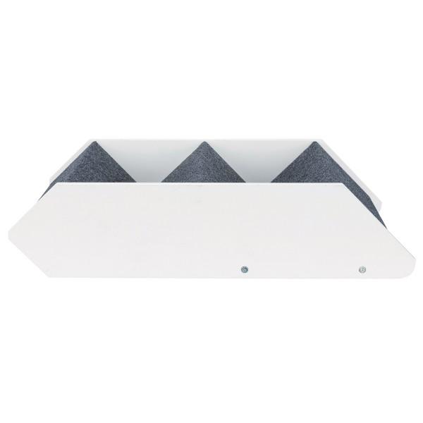 Trixie Heimtiertreppe, 3-stufig verstellbar - weiß