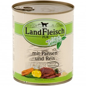 Landfleisch Dog Pur s dršťkami a rýží