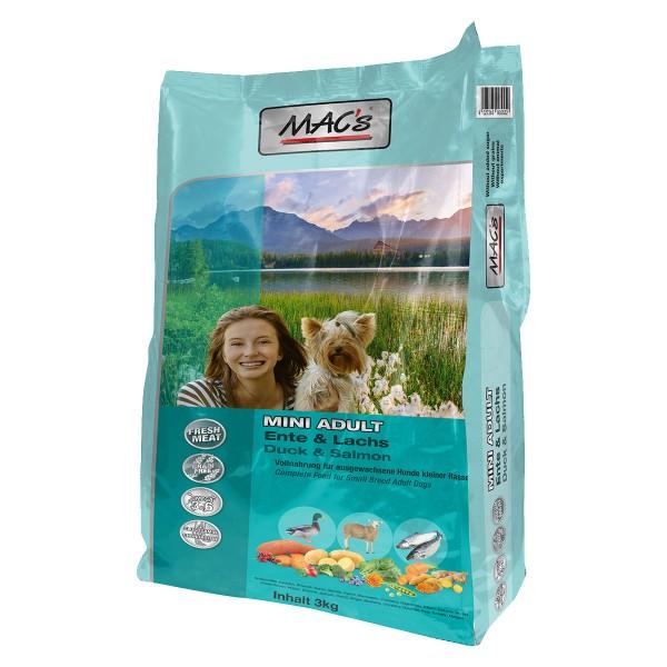 MAC's DOG Adult Mini Ente & Lachs