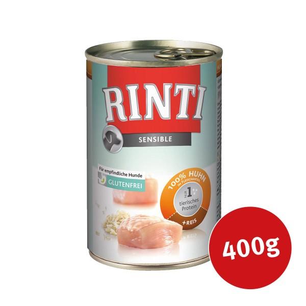 Rinti Hundefutter Sensible Huhn und Reis
