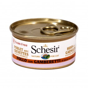 Schesir Natural Sauce Huhn-Garnele 70g