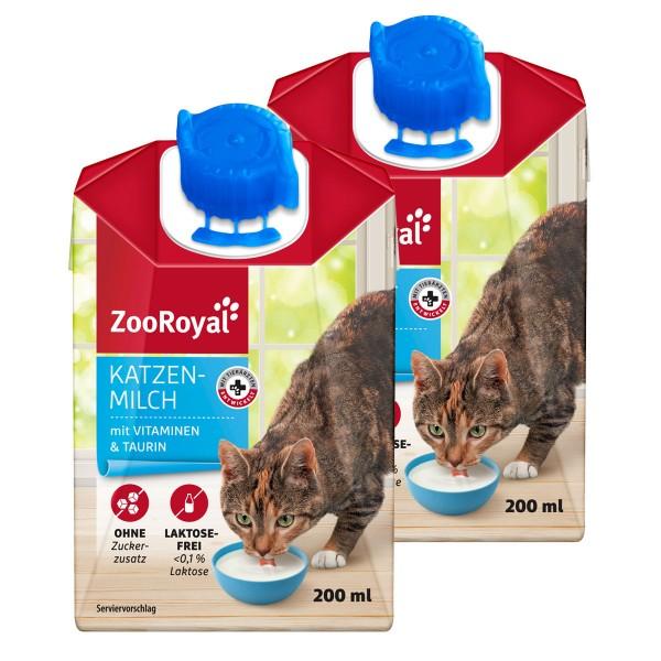 ZooRoyal Katzenmilch - 2x200ml