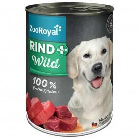 ZooRoyal Rind +  Wild Hundefutter 400g