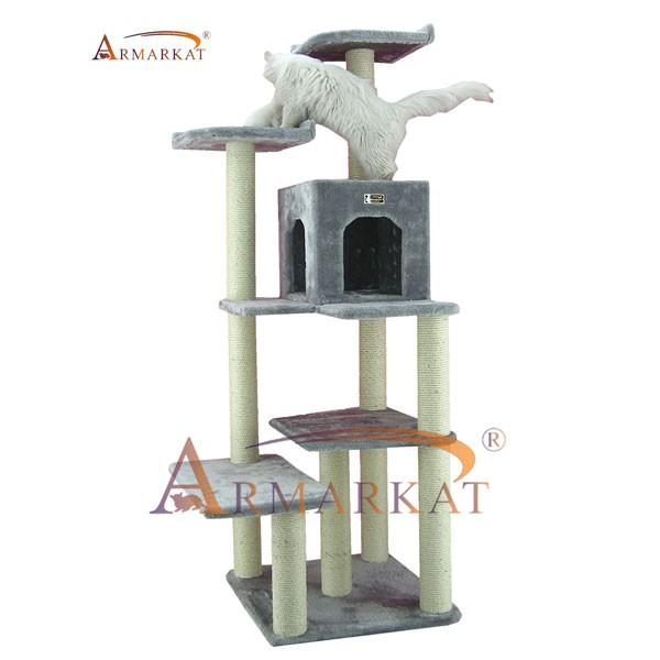 Armarkat Kratzbaum 80x65x171cm