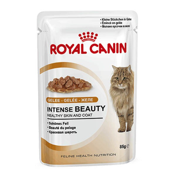 royal canin katzenfutter intense beauty in gelee 85g bei. Black Bedroom Furniture Sets. Home Design Ideas