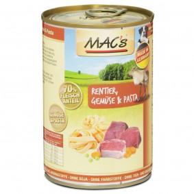 MAC's Dog Hundefutter Rentier, Nudeln und Gemüse