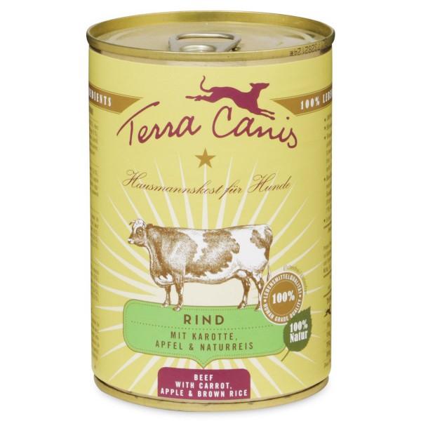 Terra Canis Rind mit Karotte, Apfel und Naturreis