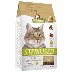 GranataPet Katzen-Trockenfutter Sterilised Geflügel