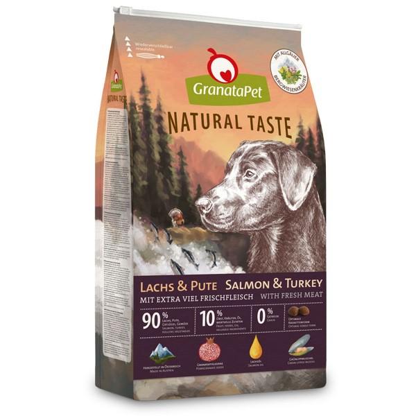 GranataPet Natural Taste Lachs & Pute - 12kg