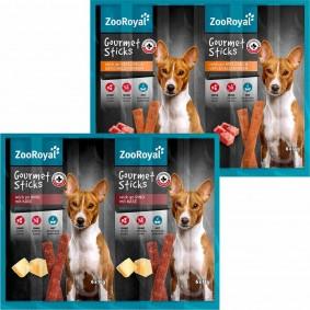 ZooRoyal Gourmet Sticks Mega Mixpaket 50x6x11g