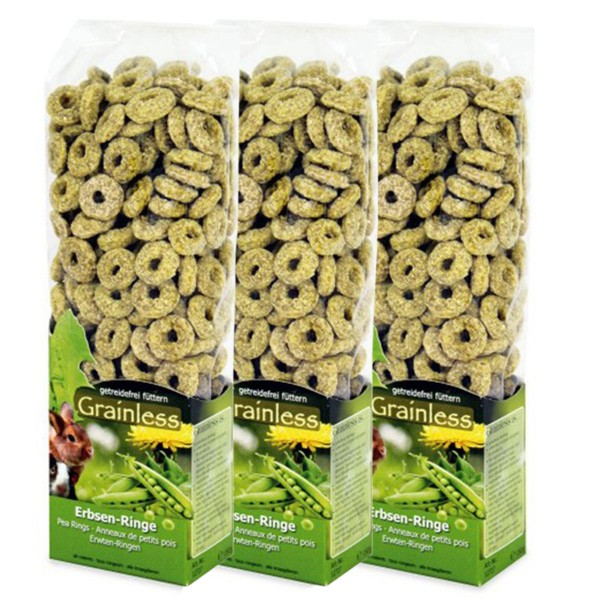 JR Farm Grainless Erbsen-Ringe 3x150g